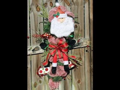 How to make a Santa Swag for Christmas