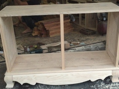 How To Make A TV Cabinet