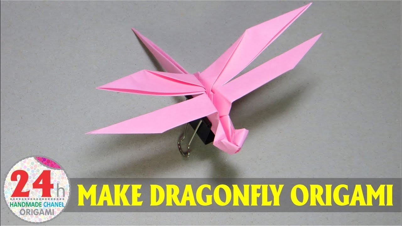 How to make dragonfly handmade origami my crafts and diy projects how to make dragonfly handmade origami jeuxipadfo Image collections