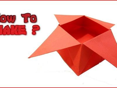 How To Make Origami Sugar Box ?