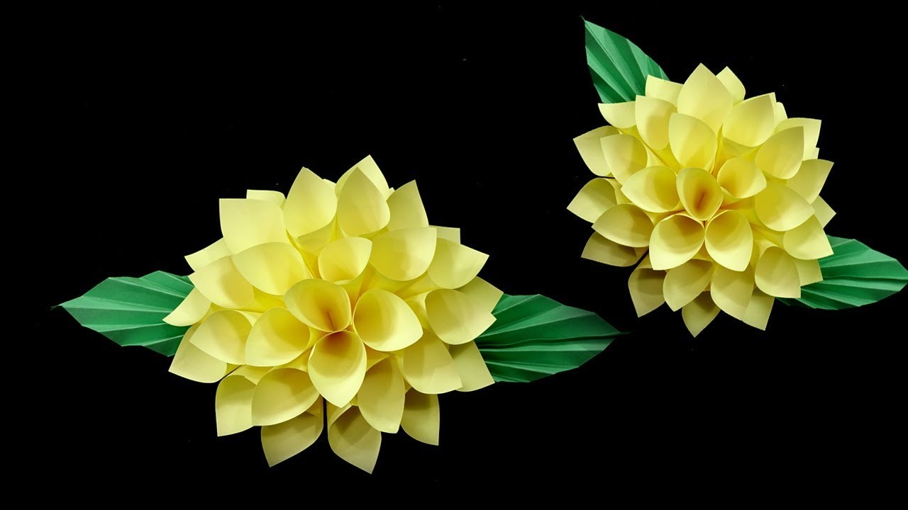 How To Make Paper Flowers Origami Flowers Healthy