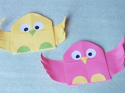 How to make Paper Owl | Back to school gift idea | CUTE and easy to make paper owl | Great Paper Art