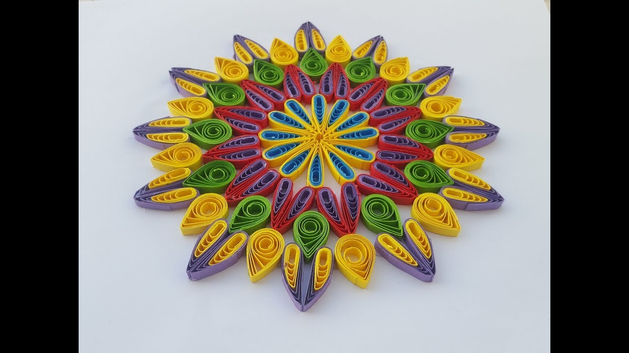 How to make paper quilling flowers using a hair comb by art life how to make paper quilling flowers using a hair comb by art life art 20 by art life mightylinksfo
