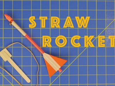 How to Make Slingshot Straw Rockets - Engineering projects for kids