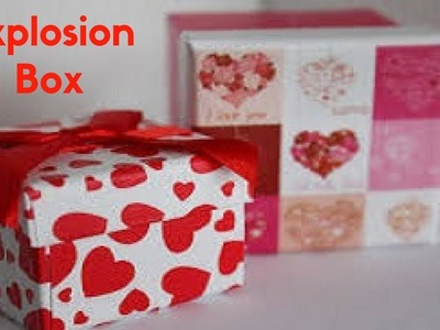 HOW TO MAKE SURPRISE EXPLOSION BOX FOR BIRTHDAY | BIRTHDAY GIFT IDEAS