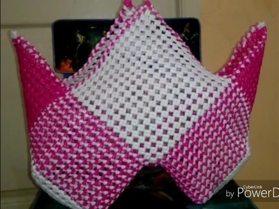 "How To Make ""W"" Shape basket Part 3"