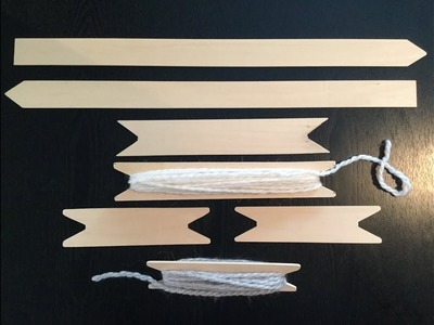 HOW TO - MAKE YOUR OWN WEAVING TOOLS