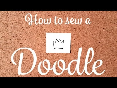 How to turn Doodle into Pattern + Baby Crown Pillow Sewing Project