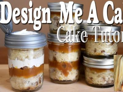 Mason Jar Cake Tutorial