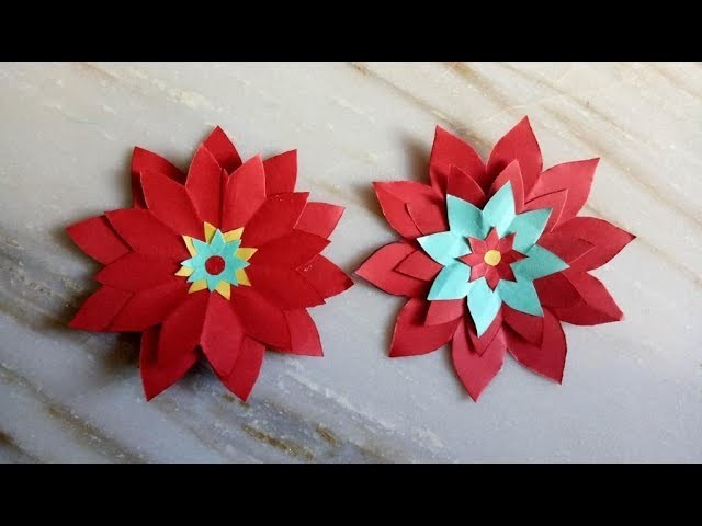 Paper flower preparation how to make origami dahlia flower easy paper flower preparation how to make origami dahlia flower easy for kids mightylinksfo