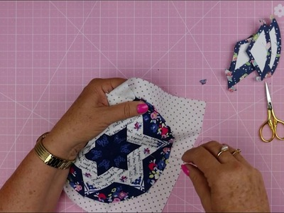 Round We Go - How to applique your blocks