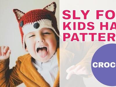Sly Fox Hat for Kids: Free Crochet Pattern