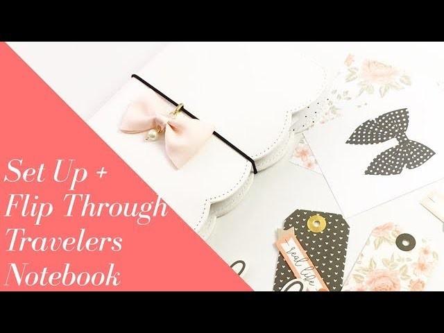 Standard [No.6] Travelers Notebook Flip Through  + Set Up [How To.Tutorial]
