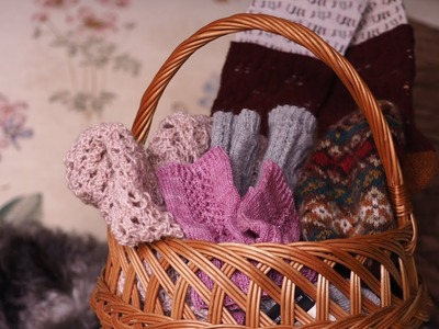 The Charm of It Knitting Podcast Episode 57: All About the FOs