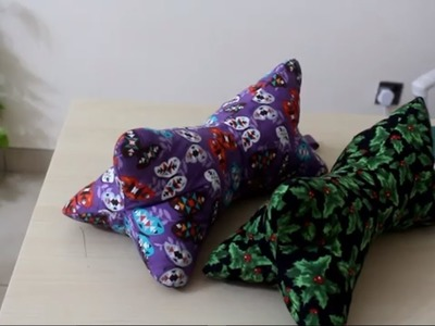 Three seams neck pillow How to!  FREE TEMPLATE!!  Awesome Gift idea