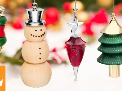 Turning a Christmas Ornament Kit | Woodturning How-to