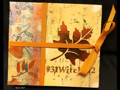 Tutorial How to Make a Paper Sack Journal + #Inktober
