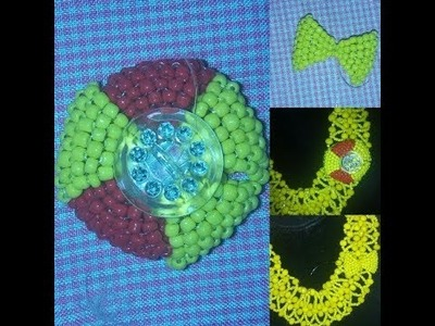 Tutorial on how to make brooch, bolt tie and hook