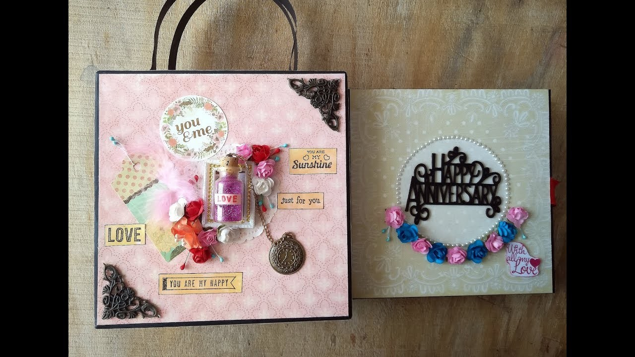 Wedding Anniversary Gift Ideas, Scrapbook Ideas