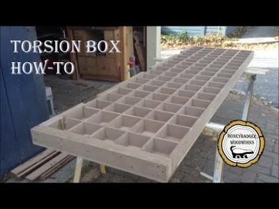 Woodworking: Torsion Box Table. How-To Part 1