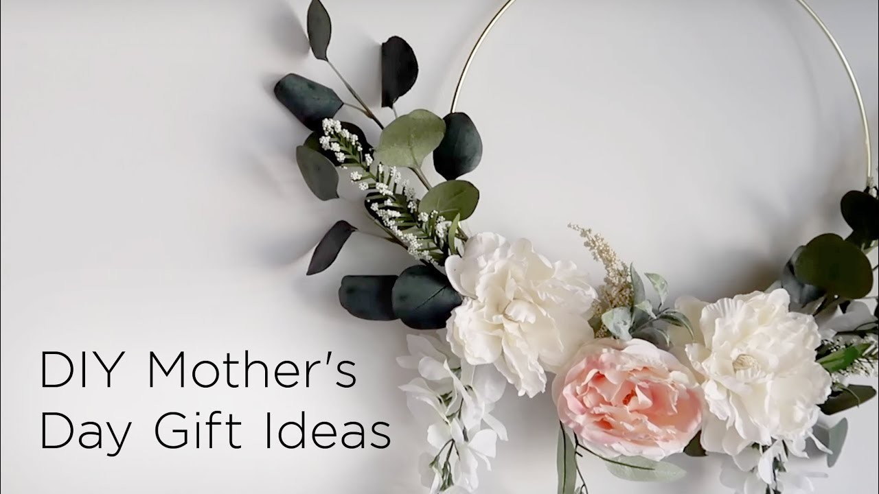 5 DIY Mother's Day Gift Ideas