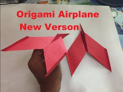 How To Make A Paper New Airplane - Origami Airplane Can Flies So Far