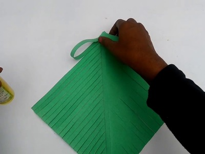 How to make Paper Christmas Tree. Paper Christmas Tree