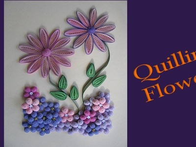 Paper || How to Make Beautiful Quilling Flowers Design Greeting Card || Siri Art&Craft ||