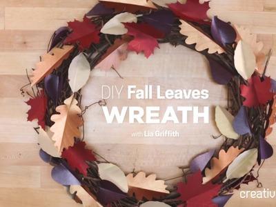 Cricut Crafts Paper Wreath - Time-lapse