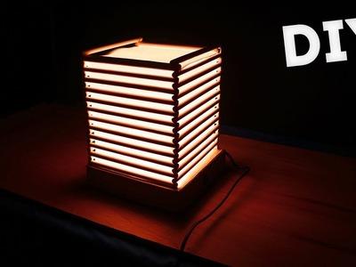 DIY A4 Paper Lampshade