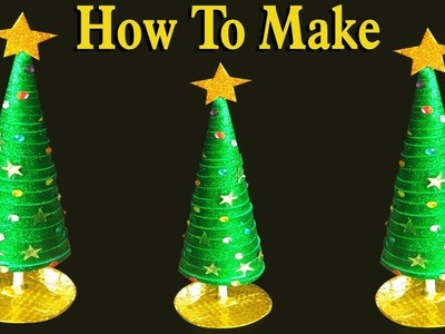DIY || Beautiful  CHRISTMAS TREE || CHRISTMAS DECORATION || Very Easy craft