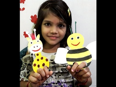 DIY HOW TO MAKE EASY PAPER PUPPETS FOR KIDS
