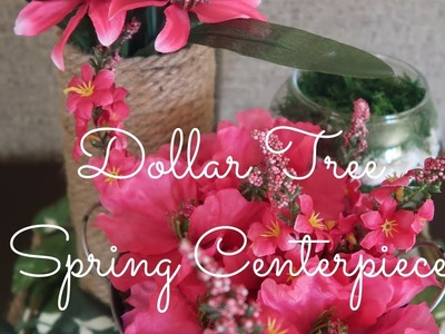 FARMHOUSE DECOR DIY | DOLLAR TREE DIY | BUDGET FRIENDLY FLORAL CENTERPIECE | COLLAB WITH JOANNEHOPES