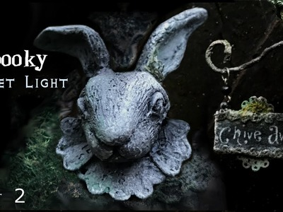 Gothic Rabbit Miniature Street Light, How to Make a Miniature Street Light, P2
