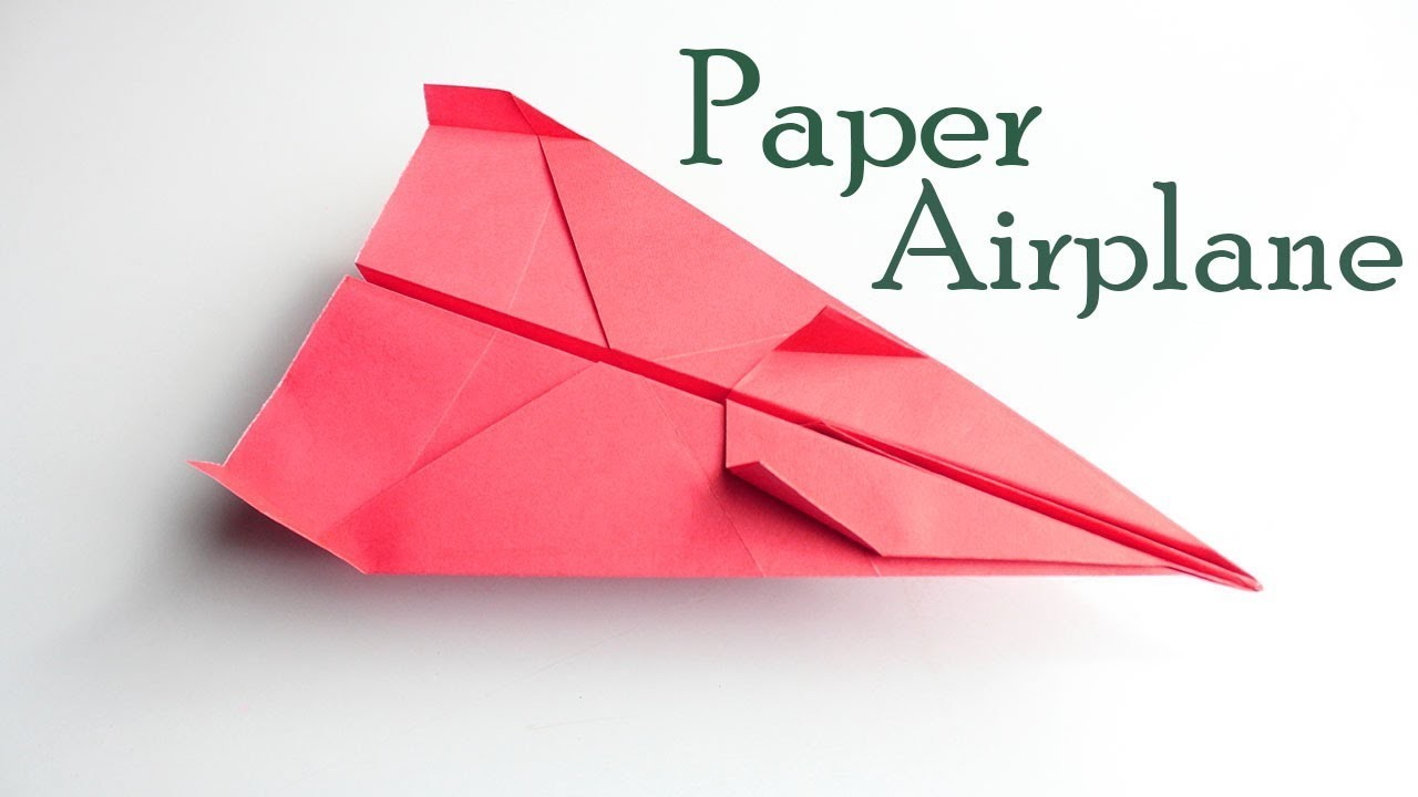 how to make a good paper Learn how to make 12 great designs for the world's best paper planes and make them fly faster and longer.