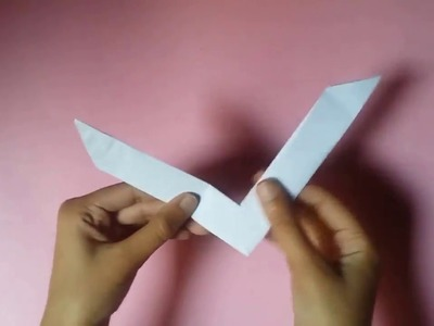 How to make a Boomerang with Paper | Origami | PaperMade