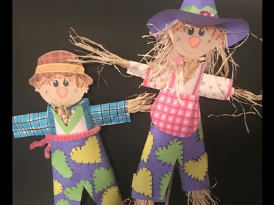 How to Make a DIY Scarecrow Out of Paper