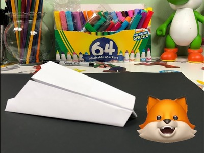 How to make a Paper Airplane for Kids ???? the Fighter Jet HAMMER