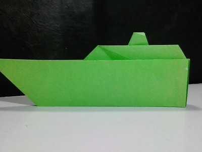How To Make A Paper Ship - Origami boat - Paper Crafts