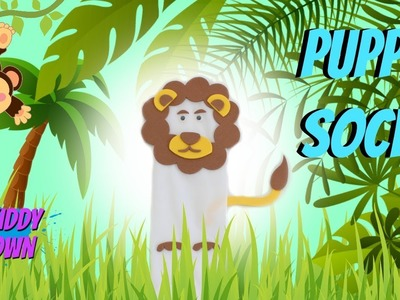 How To Make A Puppet Sock Lion!!