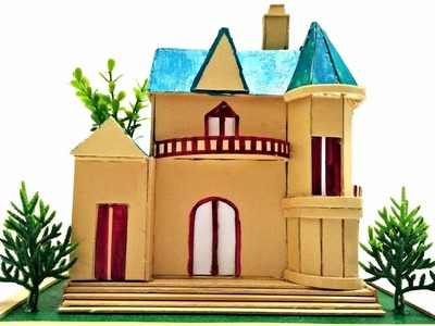 How to Make Amazing House from Cardboard || Trailers of Cardboard Crafts