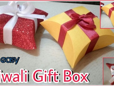 How to make : Diwali Gift Box - Easy DIY arts and crafts