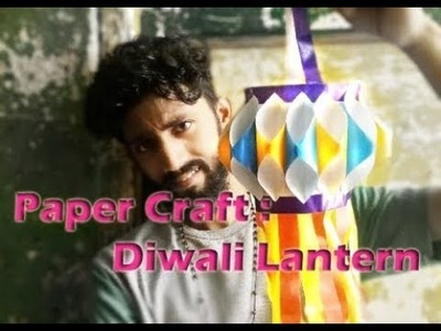 How to make diwali kandil at home with paper | How to make Akash kandil at home