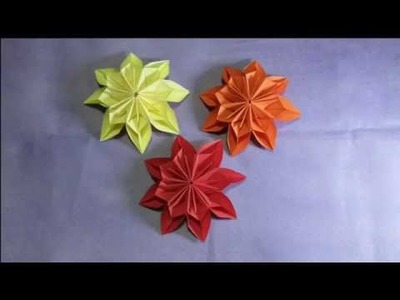 Tutorial how to make a paper origami 3d bird easy origami tutorial how to make flower origami flower make flower paper mightylinksfo
