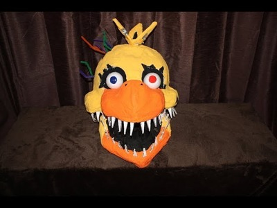 How to Make: Nightmare Chica Mask (moving jaw)