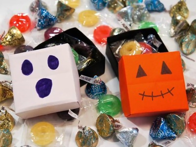 How to Make Origami Halloween Box
