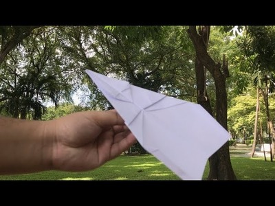 How to make Paper Airplanes - Easy, Simple, Basic Plane #11