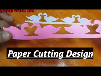 How to make paper cutting design's patterns step by step. Make a paper cutting duck