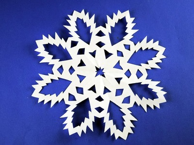 How to make Paper Snowflake ❄ №15 ❄ for Christmas and New Year Detailed tutorial DIY