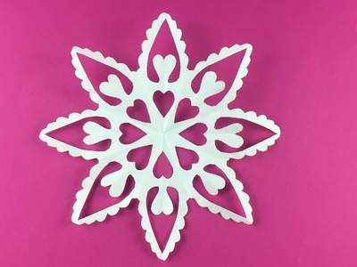 How to make Paper Snowflake ❄ №17 ❄ for Christmas and New Year Detailed tutorial DIY